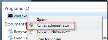 Меняем ключ для Windows 7